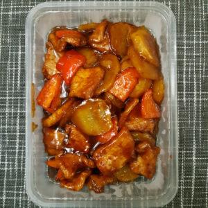 Свинина с картофелем и перцем